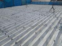 折板屋根の屋根塗装:施工前
