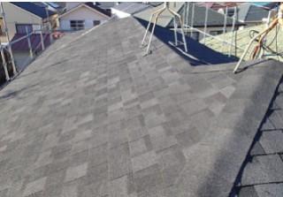 屋根葺き替え施工後
