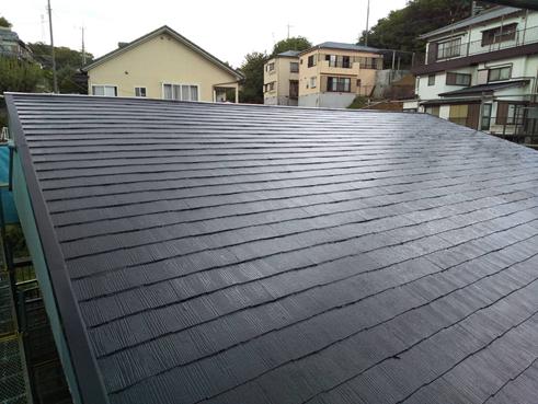 函南町屋根塗装完工