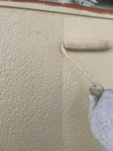 沼津屋根塗装外壁上塗り