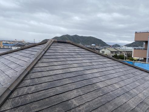 沼津屋根材劣化