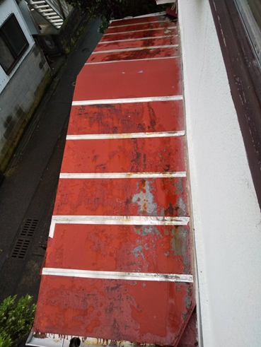 沼津市雨漏りカバー前