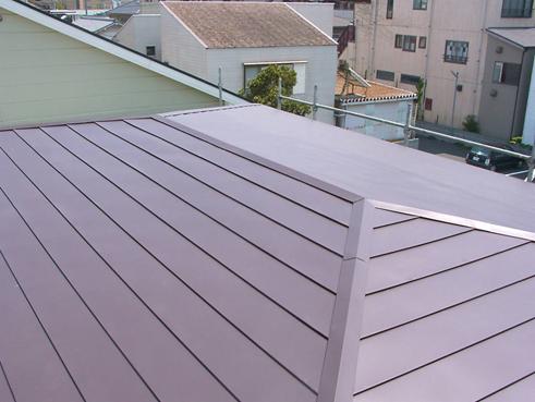 長泉町屋根カバー完工