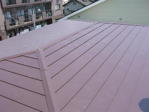 長泉町屋根カバー完了