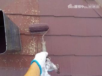 中塗り作業