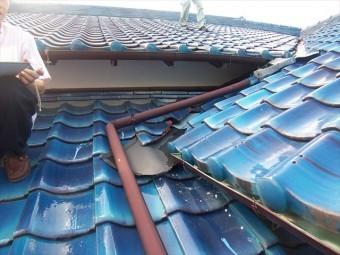裾野市平屋玄関上屋根