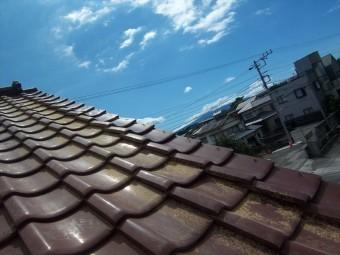 沼津市陶器瓦浮き修理