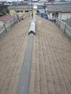 三島市スレート屋根劣化