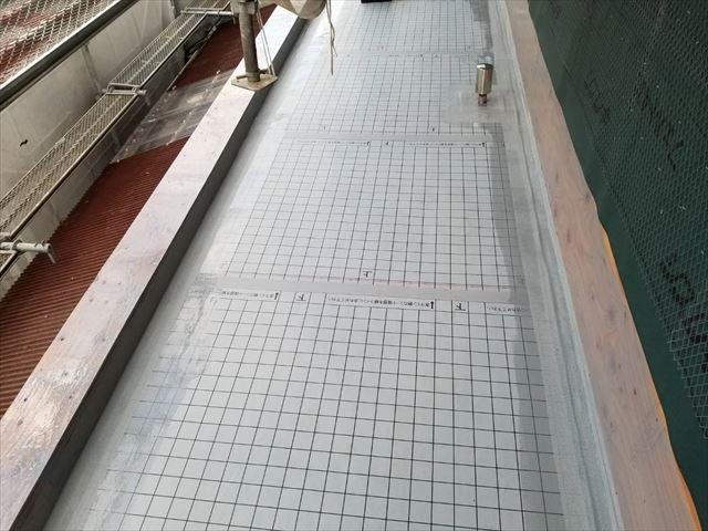 沼津市 ベランダ防水塗装 防水シート