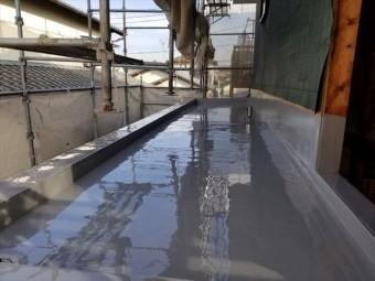 沼津市 ベランダ防水塗装完成