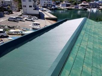 伊東市の店舗屋根ガルバリウム鋼板