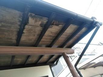 三島市屋根劣化雨漏り