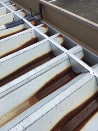 折板屋根劣化