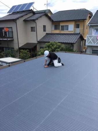 折板屋根補修