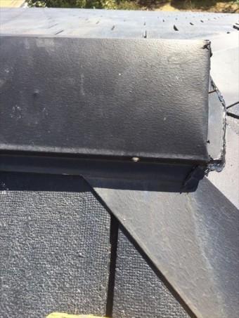 沼津市 屋根の棟補修