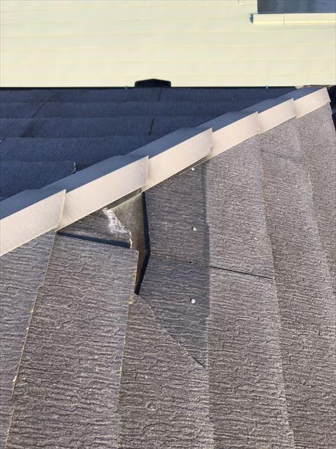屋根材破損