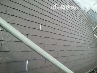 長泉町屋根ひび割れ個所