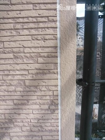 サイディング外壁目地仕上がり