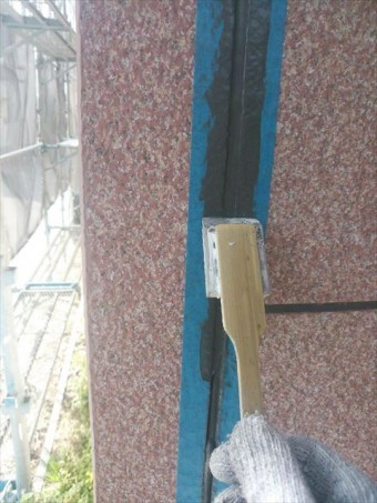 外壁目地仕上げ工事