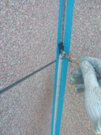 長泉町外壁目地補修