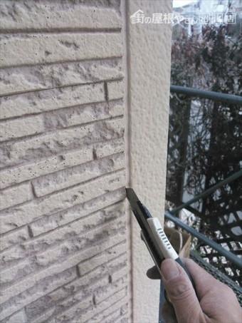 長泉町住宅の外壁コーキング劣化
