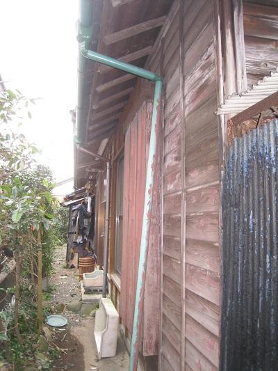 富士市築50年の住宅外壁