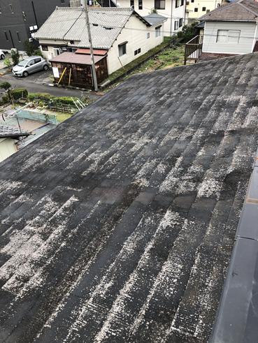 富士雨漏りストレート屋根