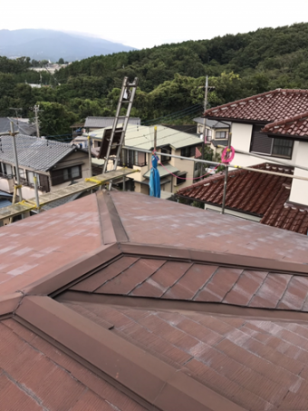 三島ストレート屋根劣化