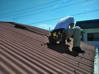 台風被害 屋根修理 富士市