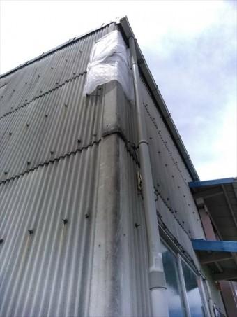 三島市御園倉庫外壁