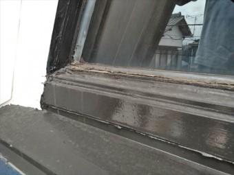 沼津市の住宅のサッシ回り補修
