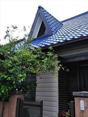 沼津市の瓦屋根に天窓