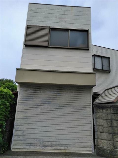 沼津市のサイディング外壁住宅変色
