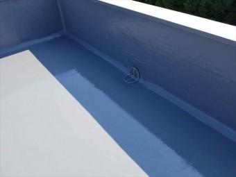 函南町 陸屋根防水塗装