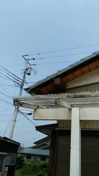 三島市借家腐食母屋