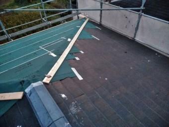 沼津市 カラーベスト屋根の防水シート