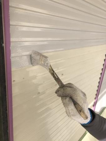 沼津市屋根塗装シャッター
