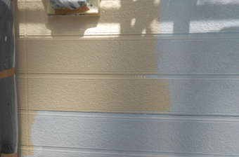 三島市外壁上塗り