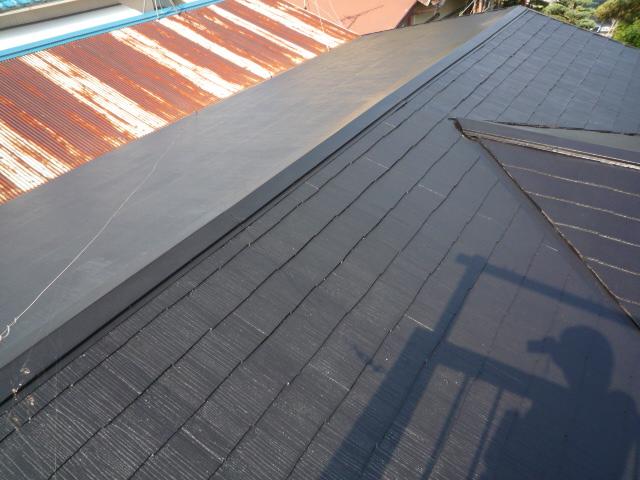 三島市屋根塗装5