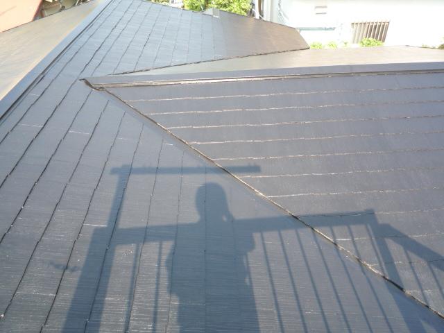 三島市屋根塗装4