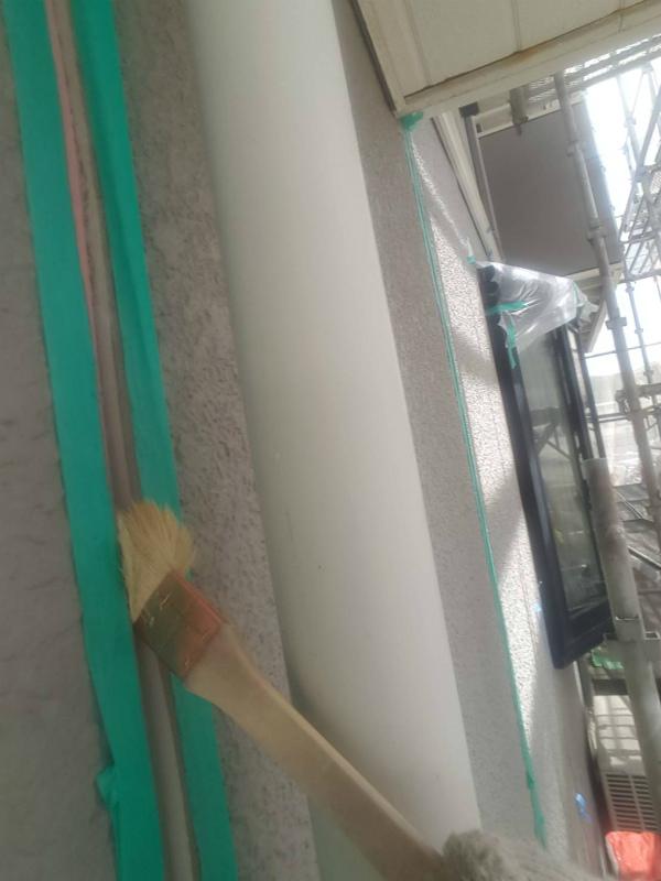 沼津市塗装シーラー使用