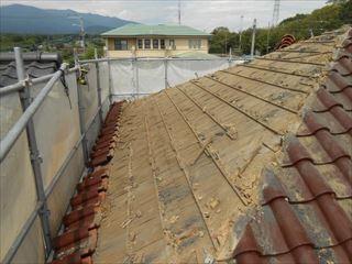 瓦屋根の下地