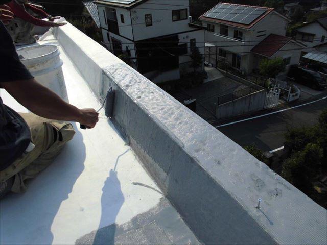 伊豆の国市 立上りプライマー塗布