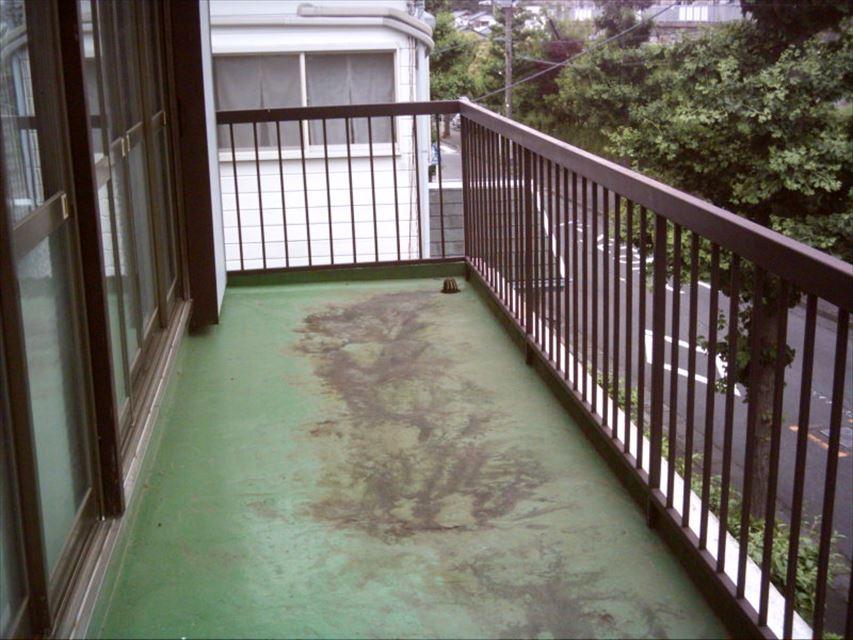 三島市ベランダ防水劣化