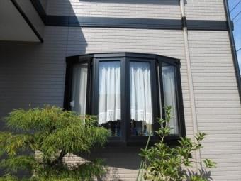 伊豆の国市弓型出窓