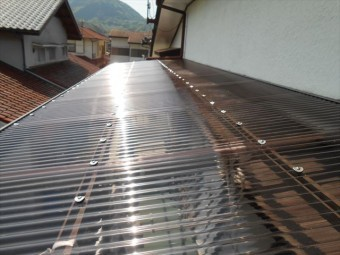 伊豆の国市テラス屋根修理