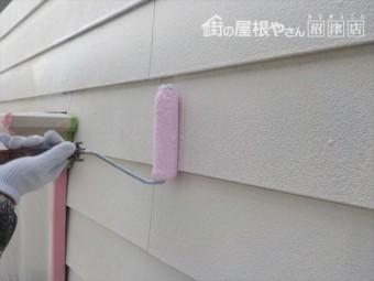 三島市アパート下塗り