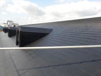 三島市アパート屋根塗装完了
