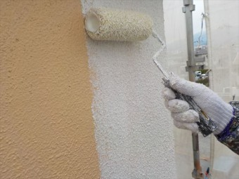 三島市モルタル外壁塗装