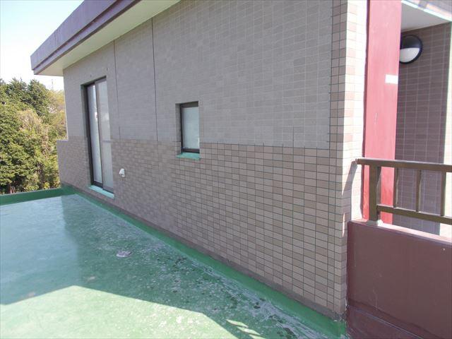 三島市マンション外壁